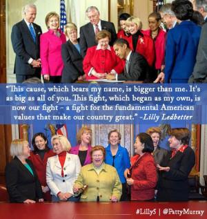 Senator Murray's Statement on 5th Anniversary of Lilly Ledbetter ...