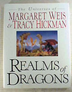 Realm of Dragons Margaret Weis Tracy Hickman Hardcover Art Book 111505