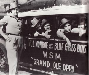 ... Lester Flatt .... Earl Scruggs ..... Birch Monroe circa 1947