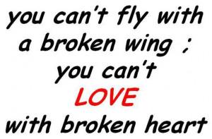 Broken Hearted Sayings Love Broken heart quotes