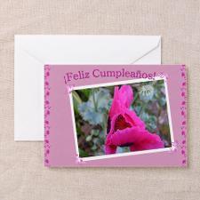 Spanish Birthday Card / Feliz Cumleanos(1) for