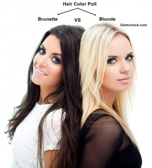 blonde and brunette hair color ideas