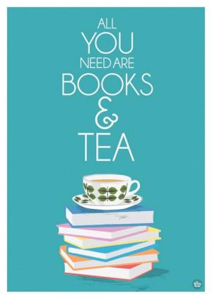 "booksdirect:""All you need are books and tea."""