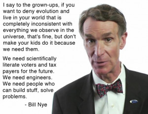 We need scientifically literate voters and tax payers