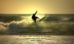 Surf Quotes - Caroline Bakker