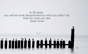 quotes pier seagulls mark twain inspirational motivation motivational ...