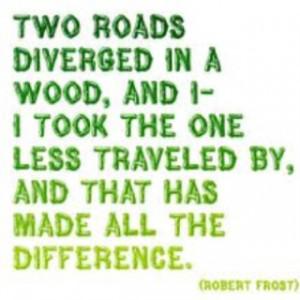 Love Robert Frost!!