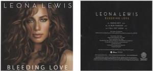 Leona Lewis Bleeding Love + Leona Lewis Sizzle Reel USA Promo 2-disc ...