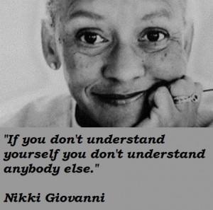 Nikki giovanni quotes 2