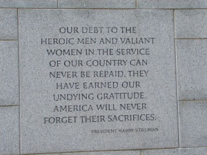 ... Day Quotes | Photos of the World War II Memorial in Washington, DC
