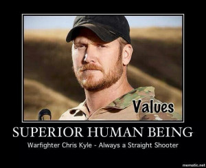 Chris Kyle, sniper, military legend: badass