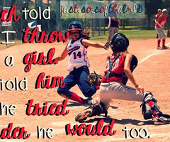 quotes about softball pitchers