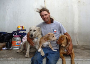 people and thier pets | Homeless People and their Pets