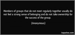 Anonymous Group Quotes More anonymous quotes