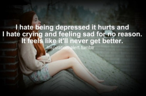 These are the quotes about being depressed Pictures