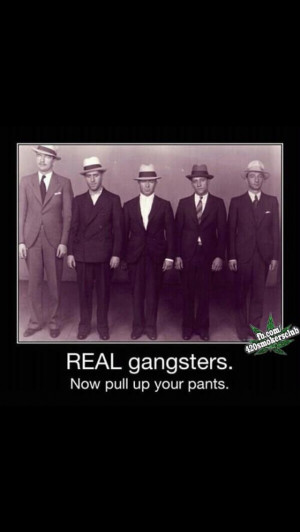 Real gangster what's up