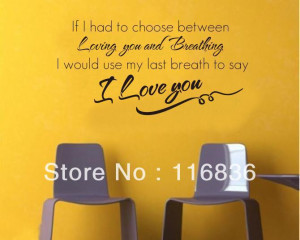 Free Shipping:Promotion 1set=9.9$ only unique quotes I LOVE YOU poem ...