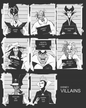 Dr. Facilier Jafar Maleficent captain hook Villains Evil Queen queen ...