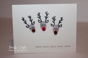 Holiday Fingerprint Cards