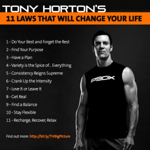 TONY HORTON QUOTE | It's confession time! Which ones are you following ...