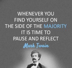 Mark Twain (Samuel Langhorne Clemens) 1835-1910