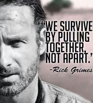 Rick Grimes quote The Walking Dead