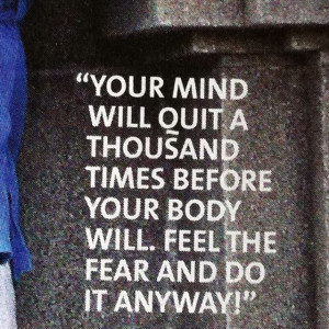 Love this! A quote In an article in Oxygen magazine from a lady who ...