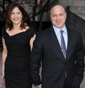 Tom Colicchio with wife Lori Silverbush