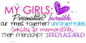 Me And My Girls Quotes
