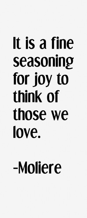 Moliere Quotes & Sayings