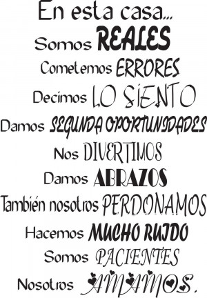 Christmas Quotes For Family In Spanish Free shipping spanish wall