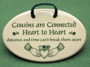 Cousins are connected Heart to Heart, Distance and Time can't break ...