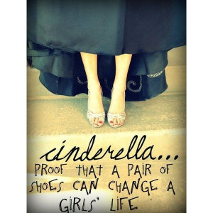 Cinderella inspired quote