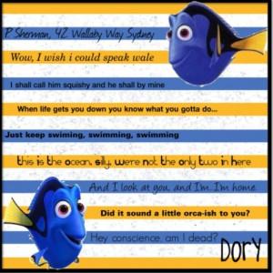 Quote Dory Quotes Disney...