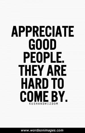 appreciation quotes appreciation quotes sayings appreciate people ...