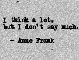 Anne Frank - quotes Photo