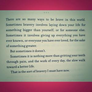 Divergent Quote.. I love this!