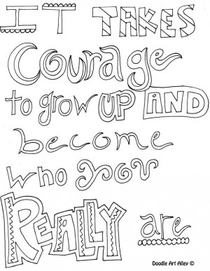 courage colouring pages (page 2)