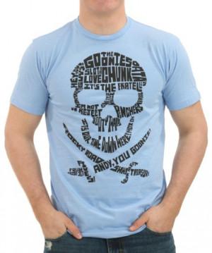 Goonies Quote Skull Logo T-Shirt