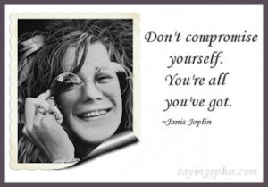 Janis Joplin Quotes and Sayings
