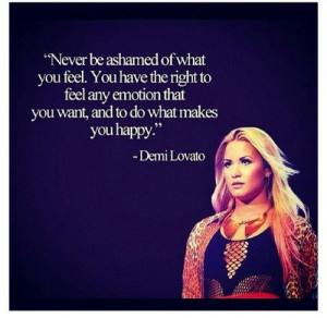 Demi lovato, quotes, sayings, inspiration, happy