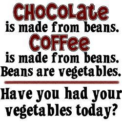 chocolate funny, Chocolate is made from beans