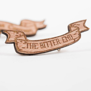 homepage > FRILLY INDUSTRIES > SET OF FIVE WOODEN SEAMAN LAPEL PINS