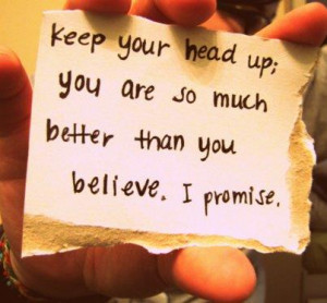 ... they don t believe in you even people you think should be on your side