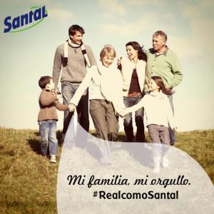 Mi familia, mi orgullo. #RealcomoSantal
