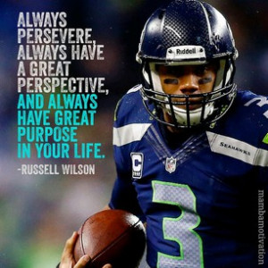 photo by mambamotivation - Quote from NFL player Russell Wilson ...
