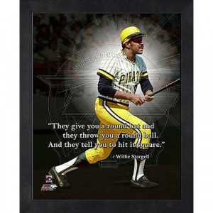 MLB - Willie Stargell Pittsburgh Pirates 12x15 Framed ProQuote