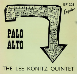 Lee Konitz Palo Alto EP UK 7