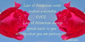 Abraham Hicks Quote on Law of Attraction
