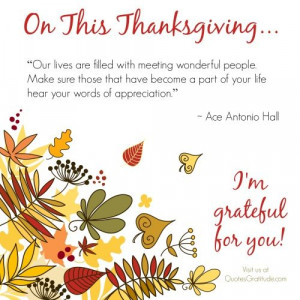 Gratitude Thanksgiving Thankfulness Blessings Quotes